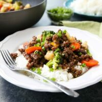 Cheap korean beef with vegetables video dessert now dinner this cheap and easy korean beef recipe is made with ground beef instead of flank steak forumfinder Image collections