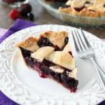Frozen Mixed Berry Pie