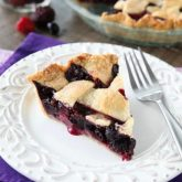 This Mixed Berry Pie uses a frozen blend of raspberries, blackberries, and blueberries which is perfect when fresh berries are out of season. No need to cook the filling ahead of time. Simply fill and bake. Enjoy this pie for the holidays or any day of the year!