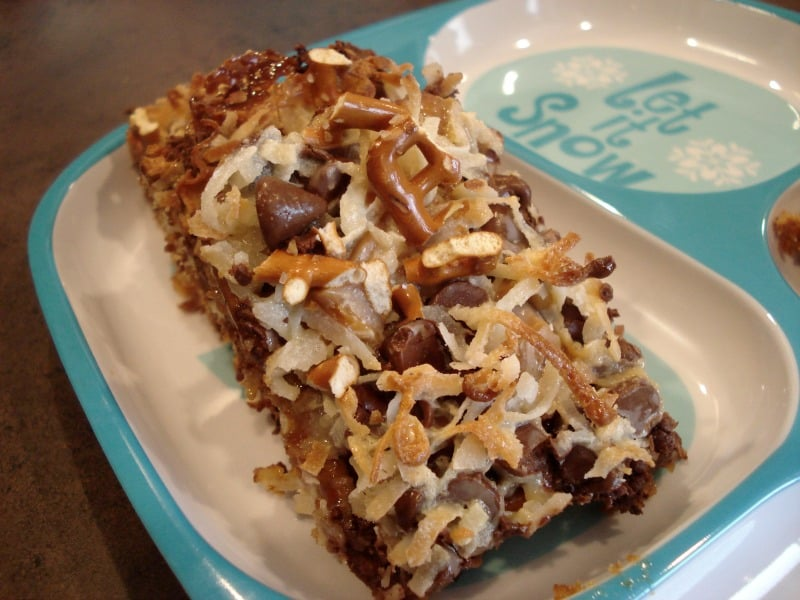Caramel Pretzel Magic Bars
