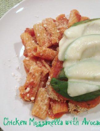 Chicken Mozzarella with Avocado