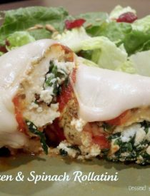 Chicken & Spinach Rollatini