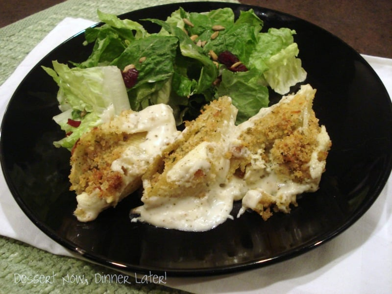Creamy Pesto Chicken Stuffed Shells
