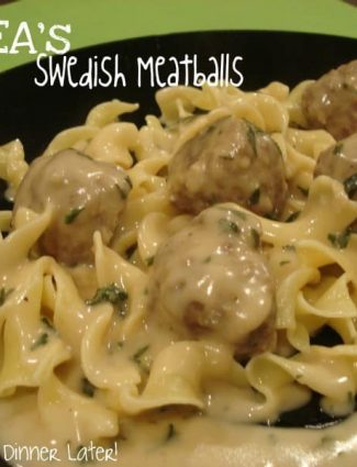 IKEA's Swedish Meatballs