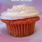 Strawberries & Cream Valentine's Day Cupcakes