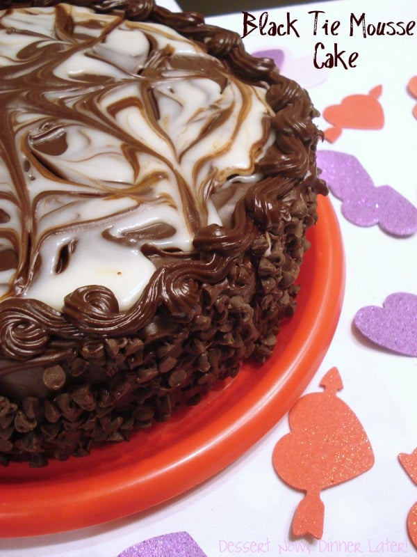 Black Tie Chocolate Mousse Cake Recipe