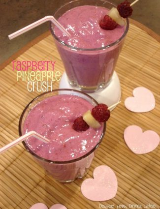 Raspberry Pineapple Crush