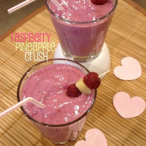 Raspberry Pineapple Crush