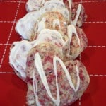 Raspberry White Chocolate Chip Scones