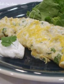 Cheese & Green Chili Enchiladas