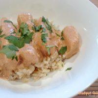 Crockpot Chicken Tikka