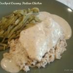 Crockpot Creamy Italian Chicken