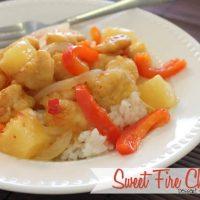 Sweet Fire Chicken