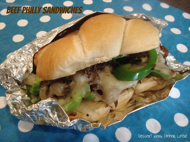 Beef Philly Sandwiches