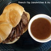 French Dip Sandwiches & Au Jus