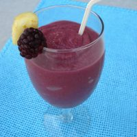Virgin Blackberry Pina Colada