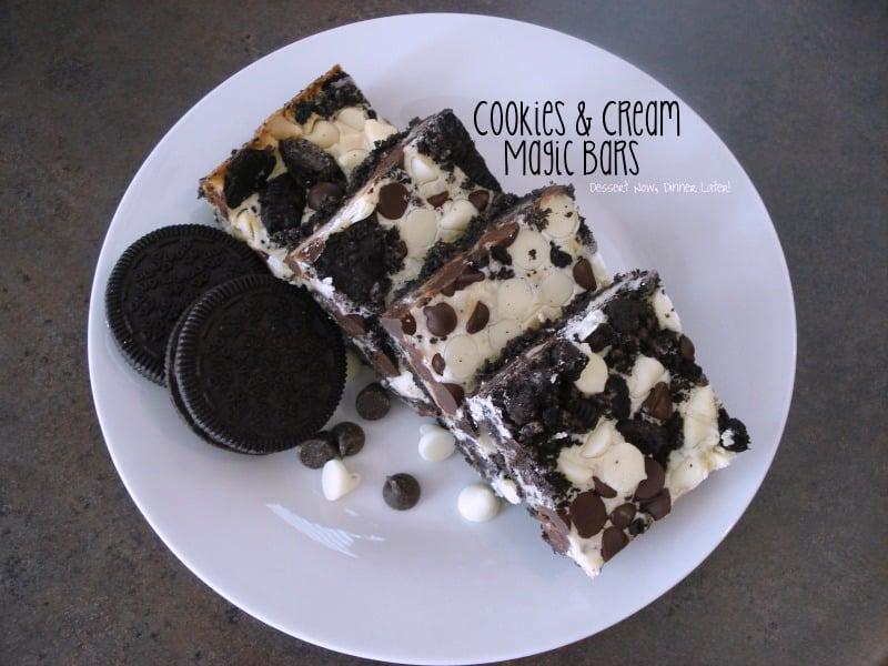 Cookies & Cream Magic Bars
