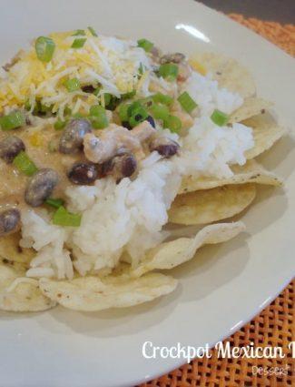 Crockpot Mexican Haystacks