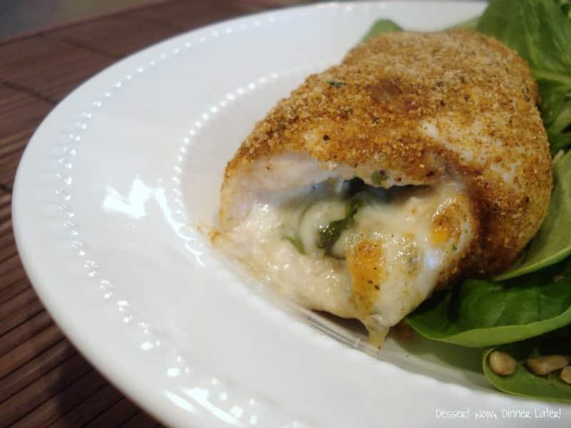 Cajun Chicken Rollatini