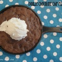 Double Chocolate Chip Pizookies