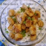Low-Fat Baked General Tso's Chicken