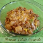 Mexican Potato Casserole