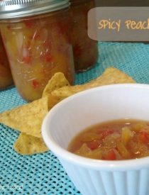 Spicy Peach Salsa