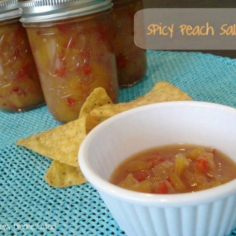 Spicy Peach Salsa