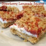 Strawberry Lemonade Squares