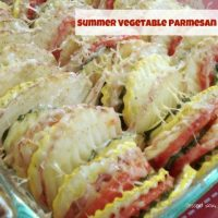 Summer Vegetable Parmesan Bake