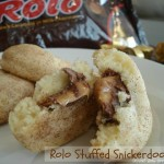 Rolo Stuffed Snickerdoodles