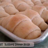 BEST Buttery Dinner Rolls