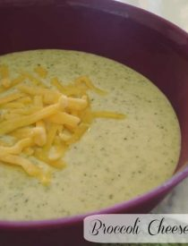 Broccoli Cheese Chowder