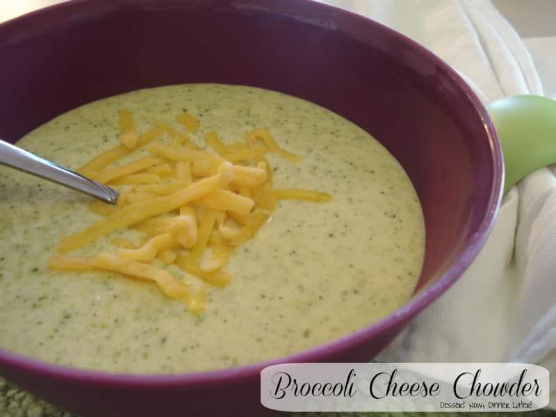 Broccoli Cheese Chowder