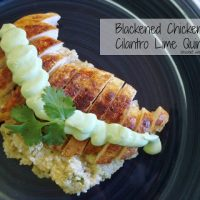 Blackened Chicken & Cilantro Lime Quinoa