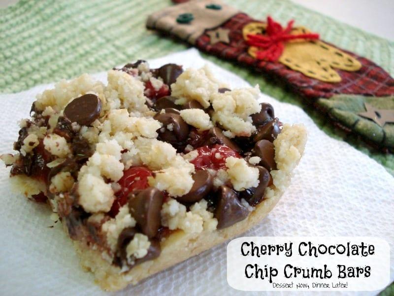 ... cherry crumb bars chocolate cherry crumb bars raspberry cherry crumb