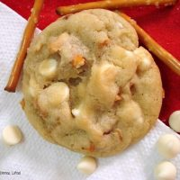 Pretzel White Chocolate Chip Cookies