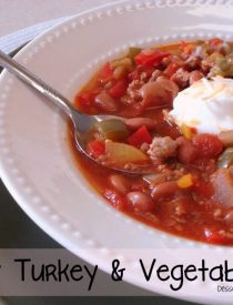 Hearty Turkey & Vegetable Chili