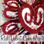Red Velvet Cake Hearts