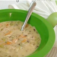 Turkey Wild Rice Soup