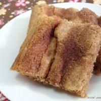 Cinnamon Brown Sugar Bars