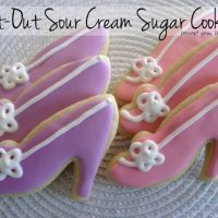 Cut-Out Sour Cream Sugar Cookies