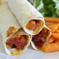 BBQ Chicken & Bacon Taquitos