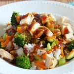 Spicy Hawaiian Teriyaki Chicken Rice Bowl (Rumbi Copycat)