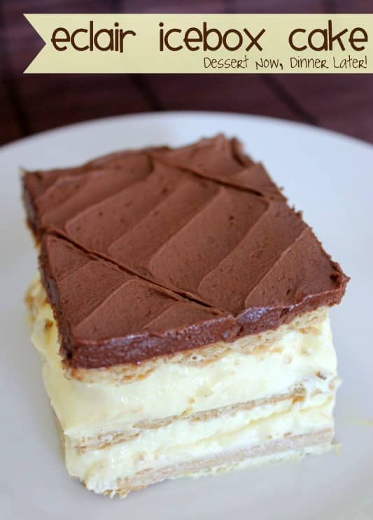Éclair Icebox Cake