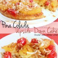 Piña Colada Upside-Down Cake