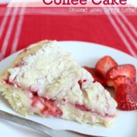 Strawberries & Cream Coffee Cake