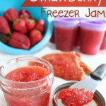 Low-Sugar Strawberry Freezer Jam + Tips & Tricks to Setting Jam
