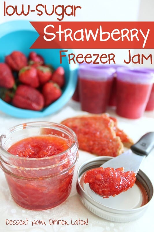 Preserving Strawberries Without Sugar Low Sugar Strawberry Freezer