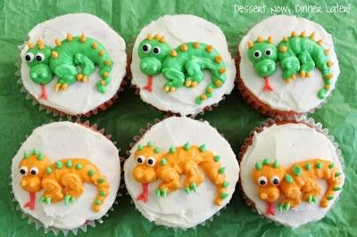 Dragon Cupcakes Tutorial Dessert Now Dinner Later